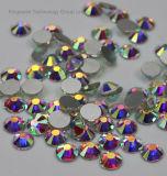 비 유리 AAA 질 편평한 뒤 Hotfix 도매 모조 다이아몬드