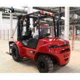 2WD de ruwe Vorkheftruck van het Terrein 2.5 Ton