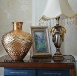 Vaso di vetro Colourful di bellezza per il fiore ed il mestiere domestico creativo della decorazione