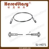 Набор рельса Railing кабеля нержавеющей стали 304# вспомогательный (SJ-H071)