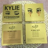 Golden Package 9 couleurs Kyshadow Ombre à paupières Pallette Matte Eye Shadow