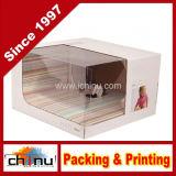 Papier de cadeau boîte rigide, disque Case (3115).