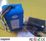 la batería de ion de litio de 12V 30ah Lition con BMS libera el cargador