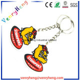 Hot Salts Custom Cartoon PVC Rubber Keychain for Promotion Gift