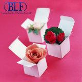 Caja de papel blanco para el regalo de la litera