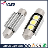 12V 36mm 3 * 5050SMD Canbus LED Festoon Bulb Luzes LED para carros