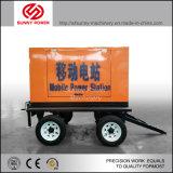Dieselpumpe des wasser-8inch für Bergbau/Bewässerung mit Schlussteil-/Wetter-Kabinendach