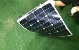 야영 차를 위한 고능률 50W Sunpower 유연한 태양 전지판