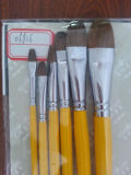 Pinceau de peinture d'artiste / Brosse de peinture Pinceau de peinture Pinceau de brosse en nylon