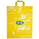 LDPE drukte de Milieuvriendelijke Boodschappentassen van het Handvat van de Lijn (Af fll-8369)