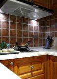 Nuovo armadio da cucina di legno solido del Brown di disegno 2017 Yb-1706013