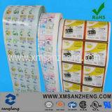De Volledige Etiketten van uitstekende kwaliteit van het Water van de Kleur Permanente Glanzende Bestand Privé