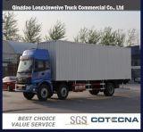 2015 Nouveau Foton Auman 6X2 Van camion cargo