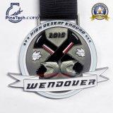 Изготовленный на заказ медаль сброса 3D для игры Triathlon