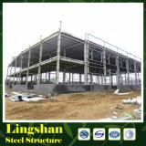 조립식 가벼운 강철 건축 작업장 (LS-SS-013)