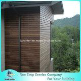 Sitio de bambú pesado tejido hilo al aire libre de bambú 3 del chalet del suelo del Decking