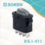 Soken Dpst elektrisches Gerätekaffee-Maschinen-Wippenschalter T100/55