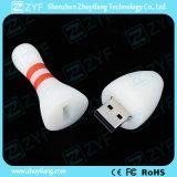 주문 PVC 볼링 모양 USB 섬광 드라이브 (ZYF5046)