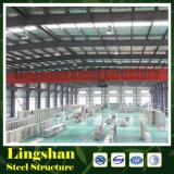 Пожаробезопасный полуфабрикат пакгауз стальной структуры (LS-SS-042)