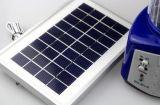 Indicatore luminoso di campeggio alimentato solare portatile