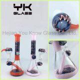 Tubos de agua de vidrio mixto de 14 mm Vidrio de fumar Bowl Bubbler Colorido Oil Rig