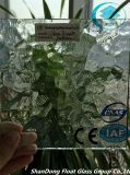 Freie Kräuselung-gekopiertes Glas mit Cer, ISO (3-8mm)