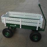Carro de madera del aviador de la radio de la cerca
