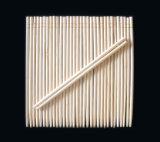 Los gemelos palillos de bambú 21cm.