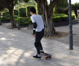 Samsung 건전지 스케이트보드 250W는 몰아 지시한다