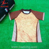 Healong Colorful Stripe Full Sublimation Rugby Jerseys