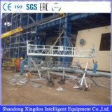 Platform van het Aluminium van de Gondel van Zlp het Hangende Opgeschorte Werkende Bouw