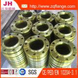 DIN2503 Pn40 Plat la bride d'ajustage de précision de pipe