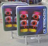 Boîte de lumière à LED de la publicité de plein air