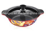 POT di ceramica Sx-020 del Cookware della minestra antiaderante rivestita di alluminio della lega