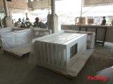 Kunstmatige Witte Countertop van het Kwarts voor Keuken, Eiland