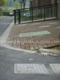 Bs EN124 SMC Praça Manhole Cover (A15 - D400 )