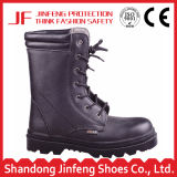 Zapatos de seguridad de acero negros del casquillo de la punta