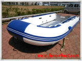 Aluminium dek, nieuw! Opblaasbare Marine Boat (FWS-D430)