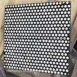 Fabrication de caoutchouc de la plaque d'usure en céramique comme convoyeur chemise en céramique