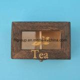 Выполненное на заказ представление носок коробка подарка твердой древесины упаковывая с рассекателями