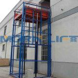 倉庫によって使用される油圧縦の貨物上昇のプラットホーム