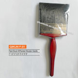 F-03 Decorar hardware Herramientas de mano de pintura pincel de cerda mango de madera