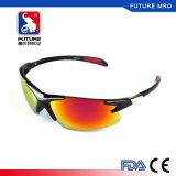 2017 stilvolle komprimierende Gläser für im Freienfahrrad-Sport als windundurchlässige Anti-UVsonnenbrillen