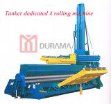 Máquina de rolamento hidráulica resistente da placa do rolo do CNC quatro