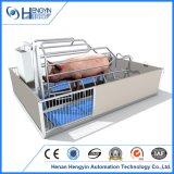 Caisses de cochonnée galvanisées à chaud de bonne qualité approuvées de porc de la CE
