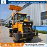 sistema hidráulico de 1200 kg mini cargadora de ruedas conducción automática