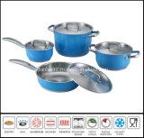 8PCS het Koken van de kleur de Reeks van de Pot