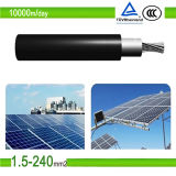 2.5mm2 / 4.0mm2/6.0mm2 PV DC Câble d'alimentation solaire pour UL / TUV approuvé