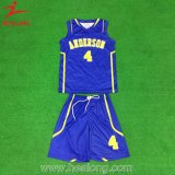 L'épaule de maillage Healong Sublimation Womens uniforme de basket-ball