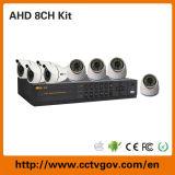 Новая технология 2015 720p 8CH Analog Ahd DVR Kits для камеры слежения System Home